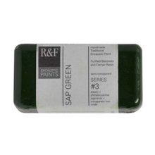 R ampF Encaustic 40ml Paint Sap Green