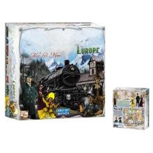 European Ticket Tour Card Game European Ride Ticket Board Game