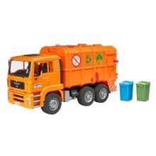 Bruder 02760 Man Tga Garbage Truck (Orange)
