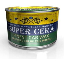 Super cera brazilian carnauba hybrid premium car wax 150g