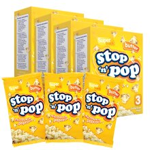 Microwave Popcorn 12 x 85g by Stop n Pop