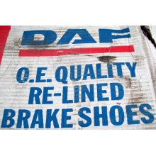 DAF Truck Re Lined Brake Shoe Set 0683249R New
