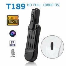 Mini T189 Camera HD 1080P Wearable Small Pen Video Voice Recorder Camcorder