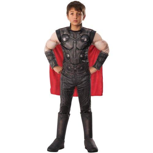 Kids Official Deluxe Thor Costume | Avengers Endgame Superhero