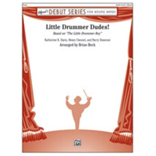 Alfred 00-41934 LITTLE DRUMMER DUDES-DS