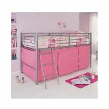 Pink Tent For Mid Sleeper Bed