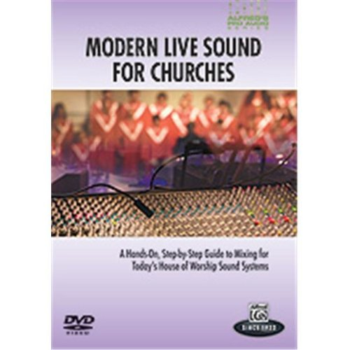 Alfred 00-33626 APAS-MODERN LIVE SOUND CHURCHES-DVD