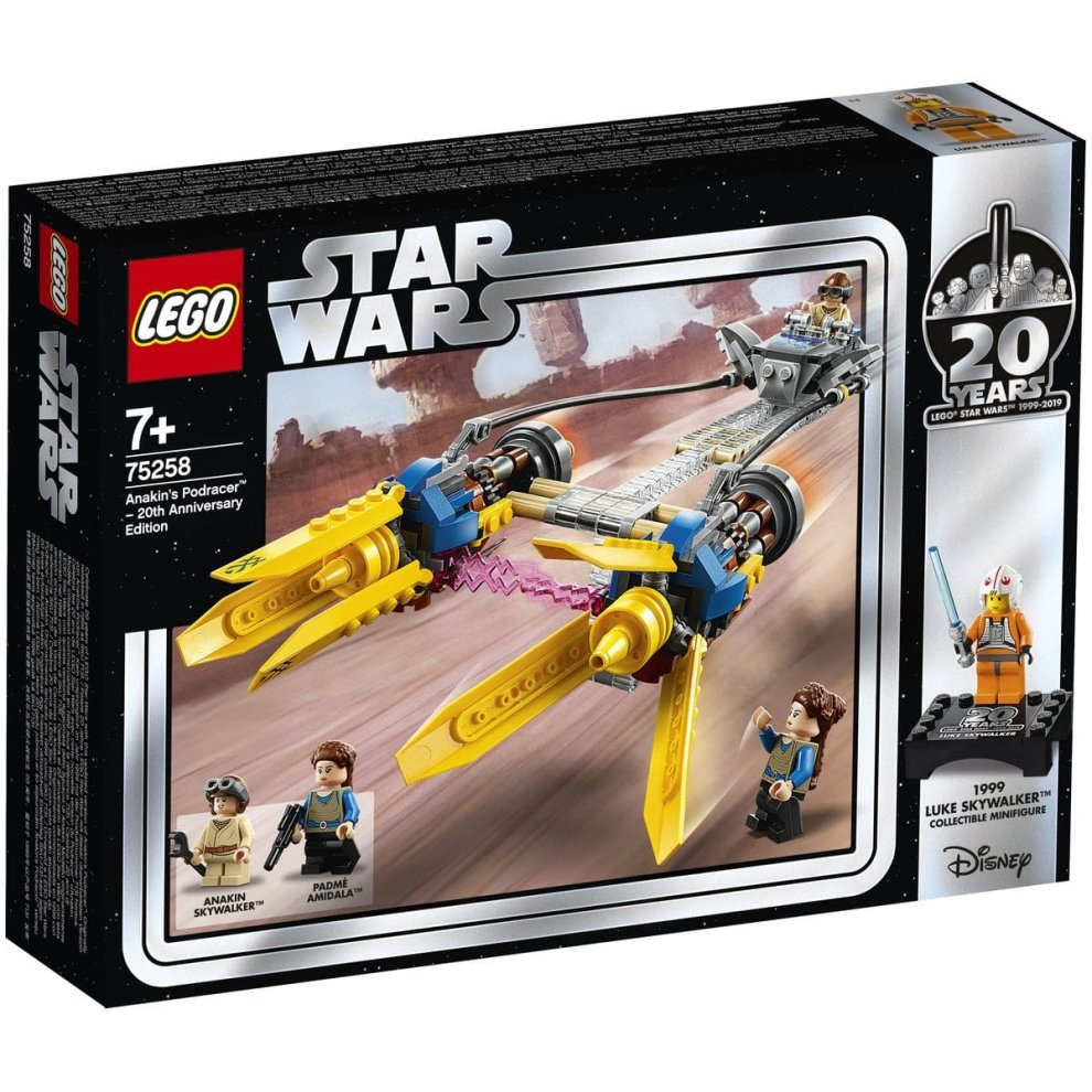 LEGO 75258 Star Wars Anakin`s Podracer – 20th Anniversary Edition