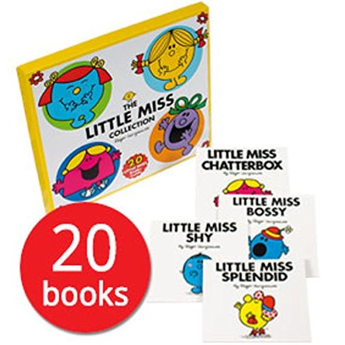 The Little Miss Collection 20 Books Box Set by Roger Hargreaves