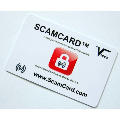 Contactless Debit/Credit Card Protector | RFID Blocking Card