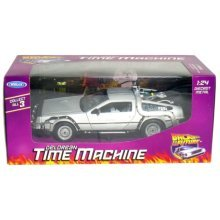 1:24 Diecast Back To The Future 1 - Welly 09066 Delorean Time Machine -  welly 09066 back future 1 delorean time machine