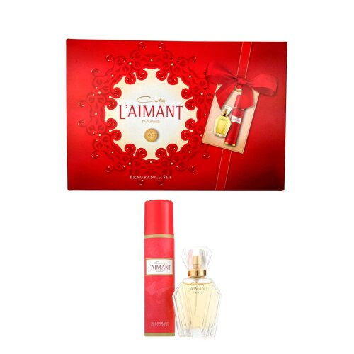 Coty L'Aimant Parfum de Toilette Spray 30ml & Deodorant Spray 75ml