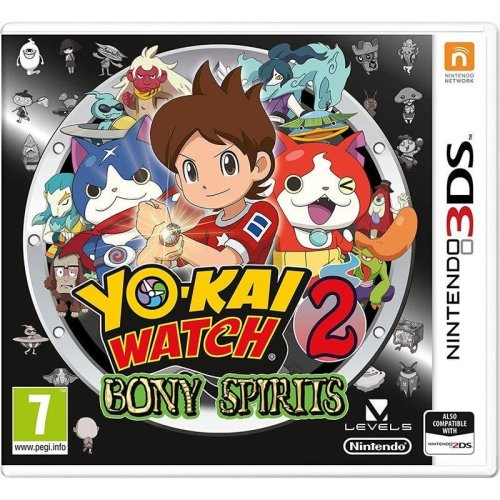 Yo-Kai Watch 2 Bony Spirits Nintendo 3DS Game