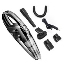 Handheld Cordless Car Vacuum 120W Rechargeable Wet/ Dry Vacuum Cleaner