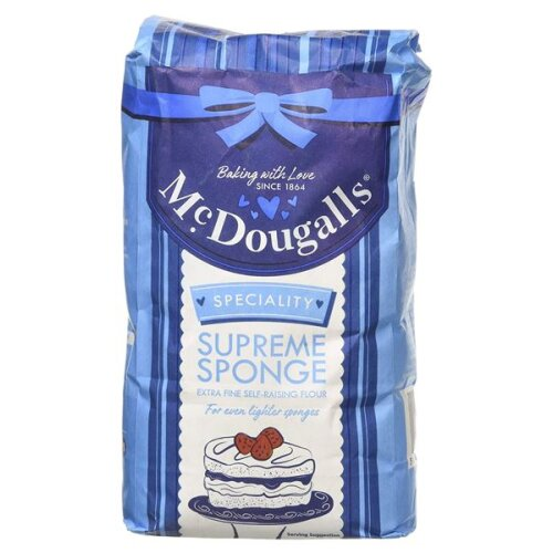 Mcdougal Supreme Sponge Self Raising Flour 1kg