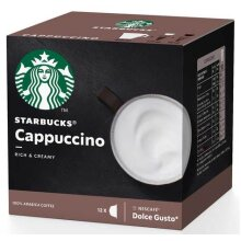 Nescafe Dolce Gusto, Starbucks Cappuccino, Pack of 1