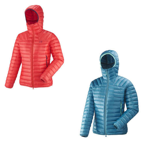 Millet Down Hooded Jackets Womens Outdoor Top Ladies Outerwear