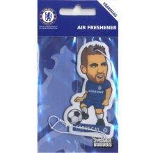 "Official Chelsea Fc Player Shape ""cesc Fabregas"" Air Freshener - Fabregas -  chelsea air freshener fabregas fc official football car"