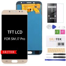 """TFT LCD Screen Replacement for Samsung Galaxy J7 Pro 2017 J730 J730F/DS J730G/DS J730GM/DS 5.5"""" LCD Display Touch Screen Digitizer New Assem"""
