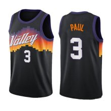 Phoenix Suns Chris Paul Men's Basketball Jersey Sport Shirts Sleeveless T-Shirt
