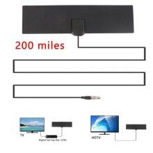 Indoor Portable Digital TV Antenna Aerial Signal Amplified 4K 1080P HD