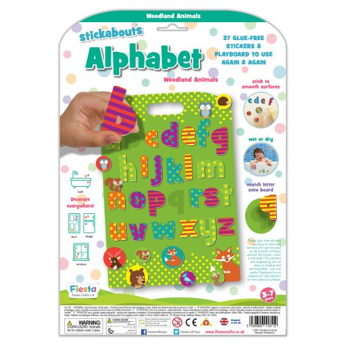 Woodland Animals Alphabet - Stickabouts
