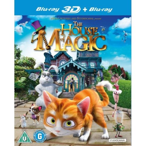 The House Of Magic 3D+2D Blu-Ray [2014]