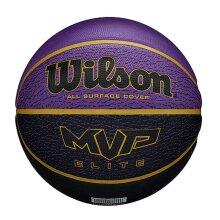 Wilson MVP Elite All Surface Cover Basketball Ball Purple/Black