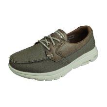 Skechers Go Walk 5 Captivated Mens Walking Trainers / Shoes - Khaki