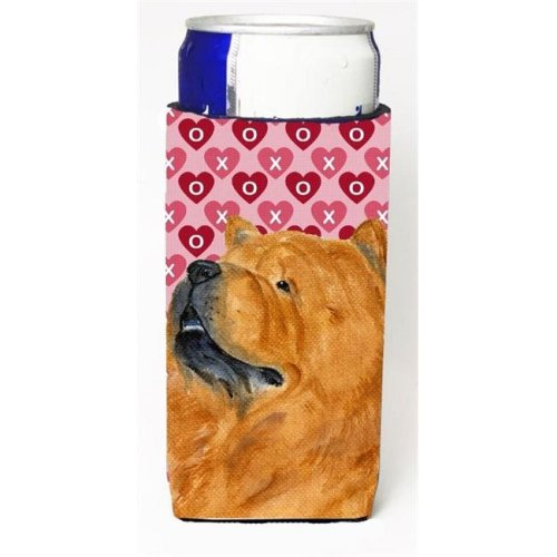 Chow Chow Hearts Love And Valentines Day Portrait Michelob Ultra bottle sleeves For Slim Cans