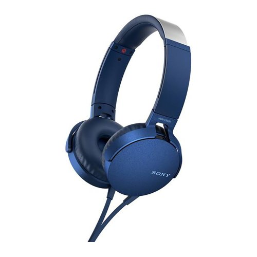 Sony MDR-XB550AP Wired On-Ear Extra Bass Headphones Foldable With Microphone