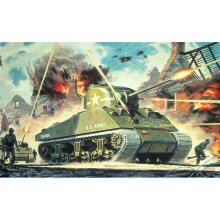 AIRFIX A01303V Sherman M4 Mk1 1:76 Tank Model Kit