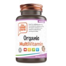 Womens Organic Multivitamin supplements, No Added Sugar, NON-GMO