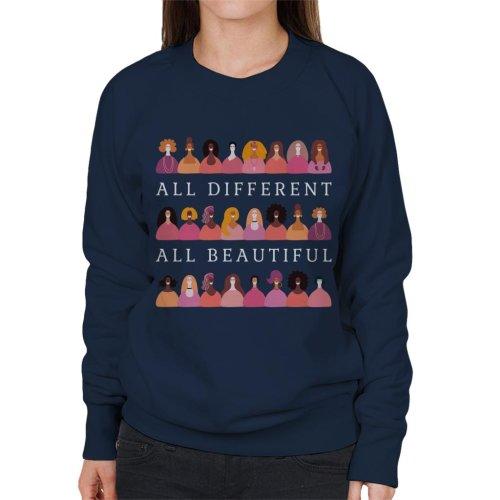 Girl Power All Different All Beautiful Women's Sweatshirt