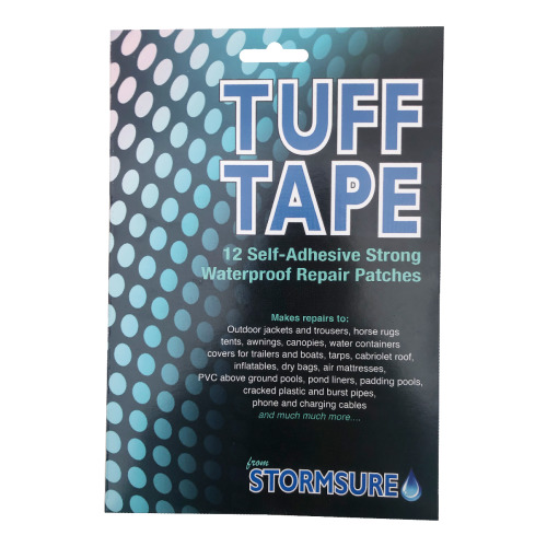 TUFF Tape Self-Adhesive Assorted Patch Set Large