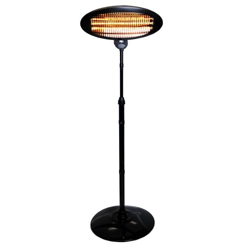 Oypla Free-Standing Electric Patio Heater | Outdoor Heater