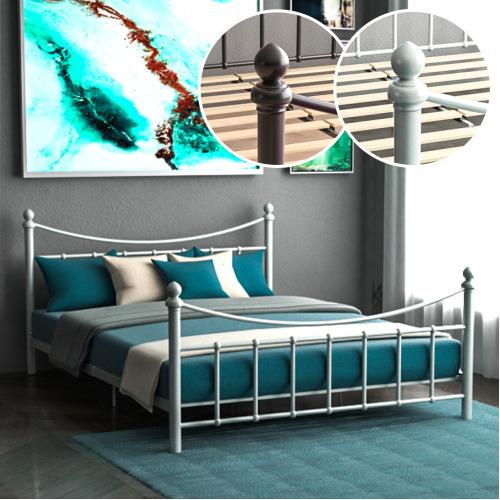 Paris Metal Bed Frame Modern Stylish Bedroom