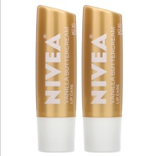 Nivea, Lip Care, Vanilla Buttercream, 2 Pack, 4.8g Each