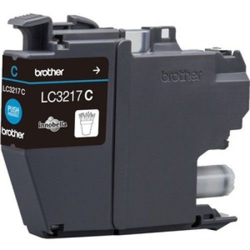 Brother LC3217C Ink Cartridge Cyan Inkjet 550 Pages LC3217C