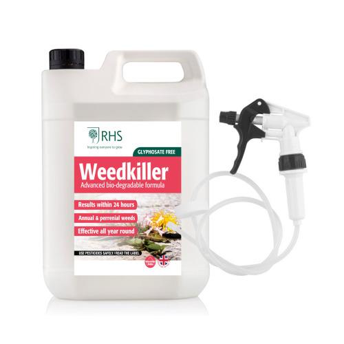RHS Weedkiller 5L with Long Hose Trigger