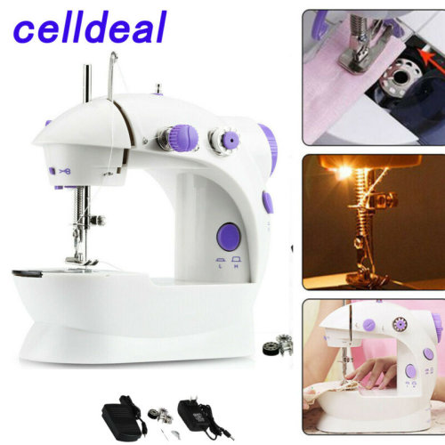 Electric Sewing Machine 12 Stitches Adjustable 2 Speed Foot Pedal LE