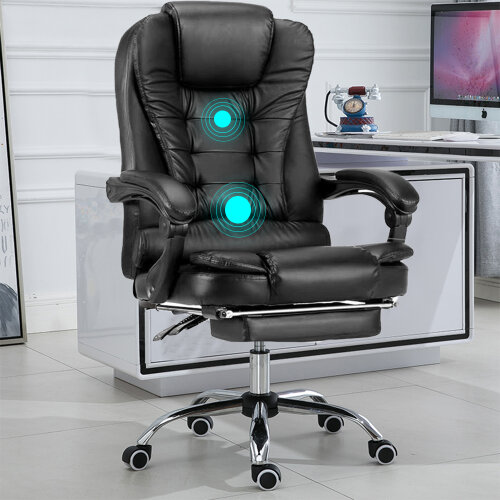 Luxury Massage Leather Office Chair