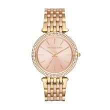 Michael Kors Darci Daimond Accent Rose Gold Dial Ladies Bracelet Watch MK3507