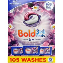 Bold 3-in-1 Lavender & Camomile Laundry Detergent Pods 35x3=105 Washes