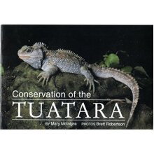 Conservation of the tuatara Mary McIntyre - Paperback - VGC - Used