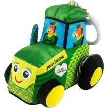 Lamaze Clip & Go John Deere Tractor Hanging Soft Toy
