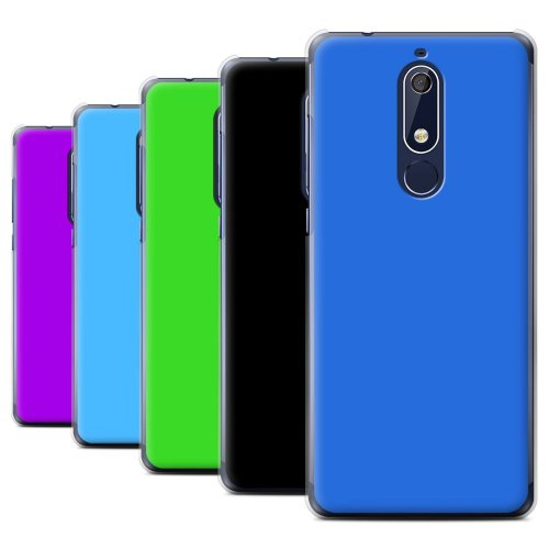 Colours Nokia 5 2018 (5.1) Phone Case Transparent Clear Ultra Slim Thin Hard Back Cover for Nokia 5 2018 (5.1)