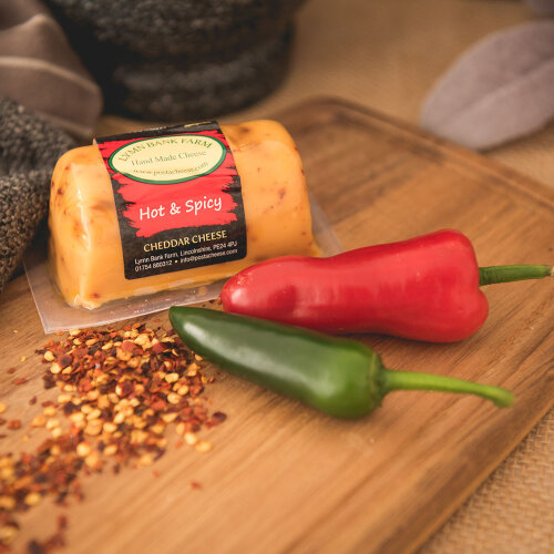 Hot and Spicy Cheddar Barrel (145g)