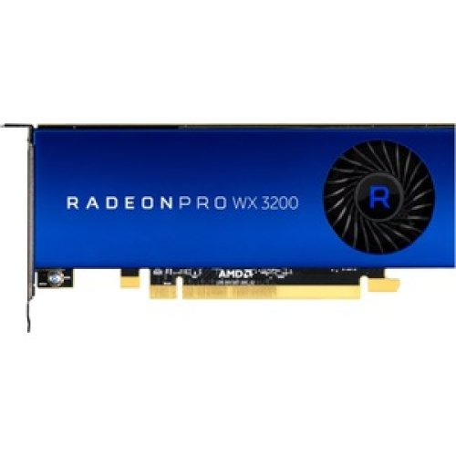 Amd Radeon Pro Wx 3200 Graphic Card 4 Gb Gddr5 1.25 Ghz Core 128 Bit Bus Wi 100-506115