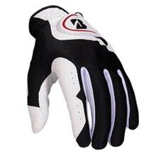 Bridgestone Golf Mens Bridgestone Fit Glove, White, M